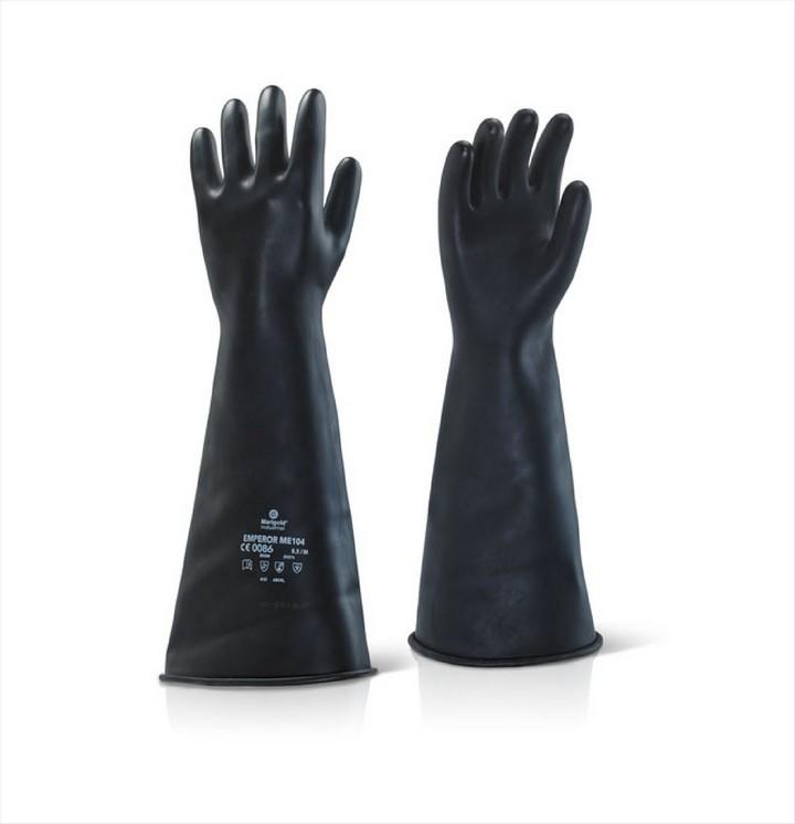 Industrial Heavyweight Gloves Black Rubber 17 Quot Ilmw1710